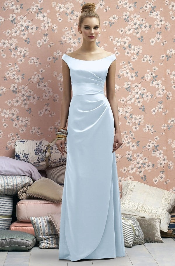 Elegant Pale Blue Bridesmaid Dress Trends