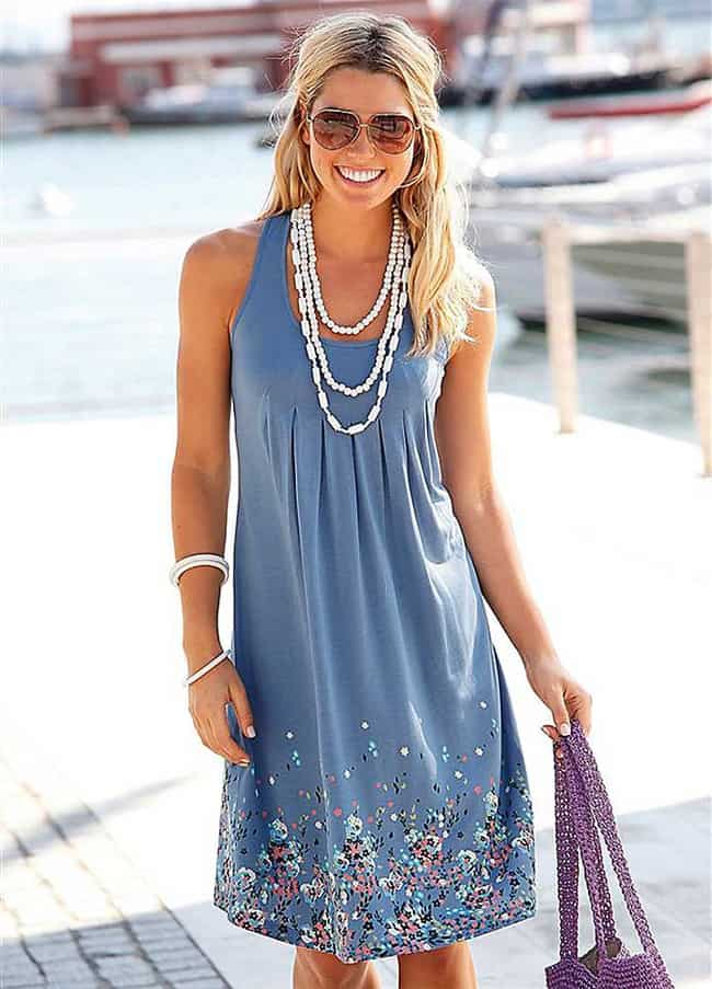 Elegant Women's Sundresses Ideas