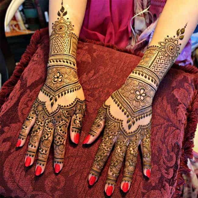 Fantastic Bridal Henna Designs Photos