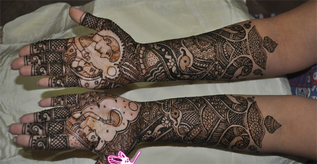 Bridal Mehndi Themes : Latest dulhan mehndi designs pictures sheideas