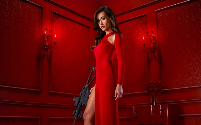 Fantastic Maggie Q Nikita Movie Backgrounds
