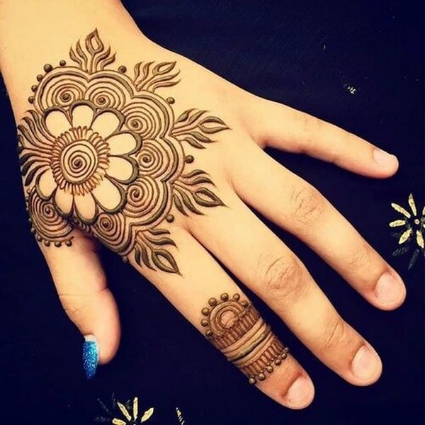Mehndi Art Photos : Top coolest indian mehndi designs sheideas