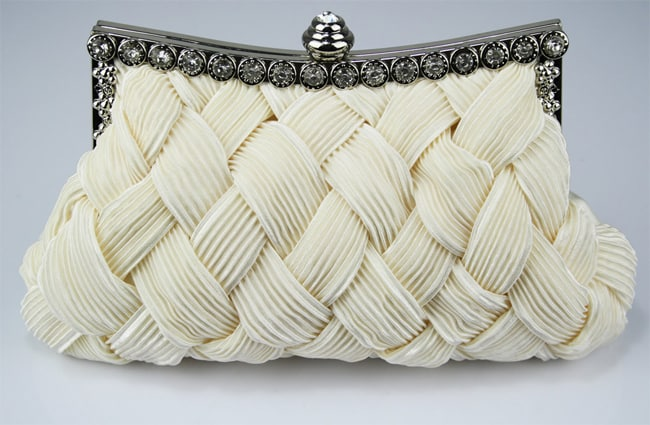 Great Cream Clutch Wedding Bag Designs