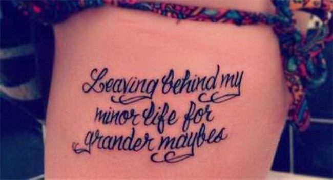 Great Meaningful Words for Tattoos