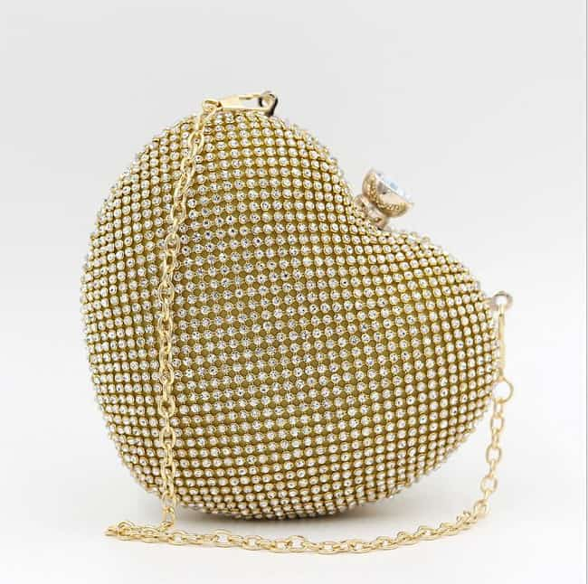 Heart Shaped Wedding Handbag Ideas - wedding handbags
