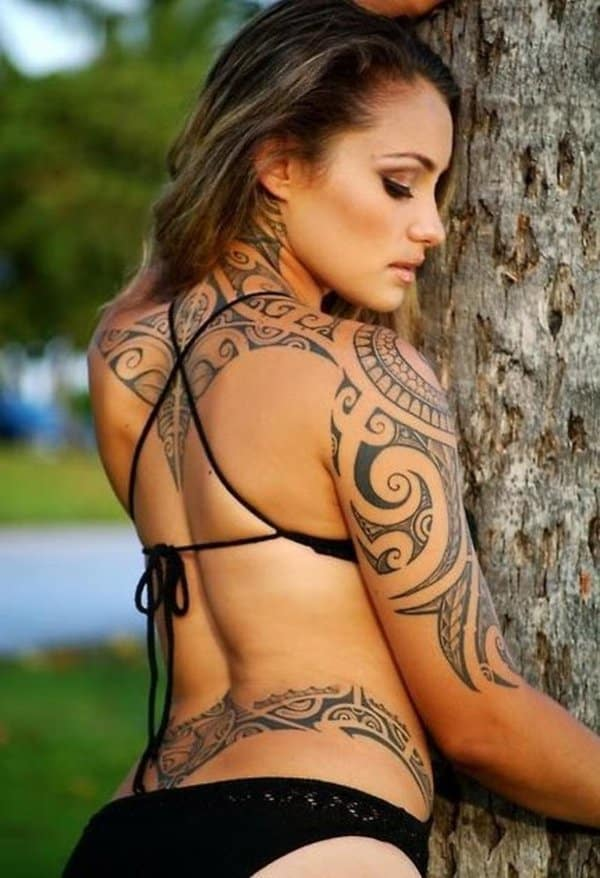 Hot Maori Tattoos Designs on Body 2016