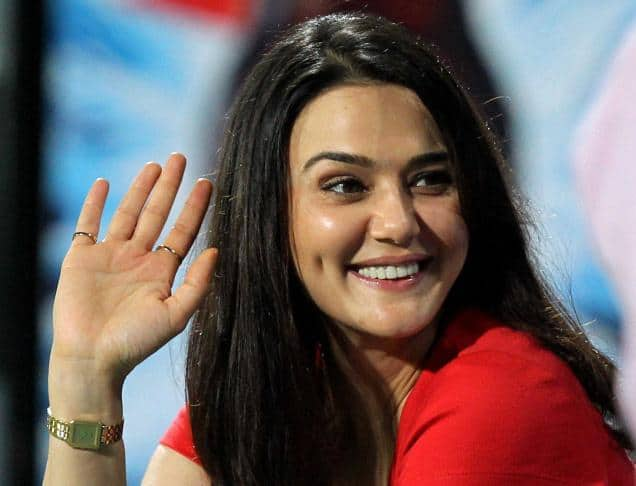 Indian Actress Preity Zinta Images