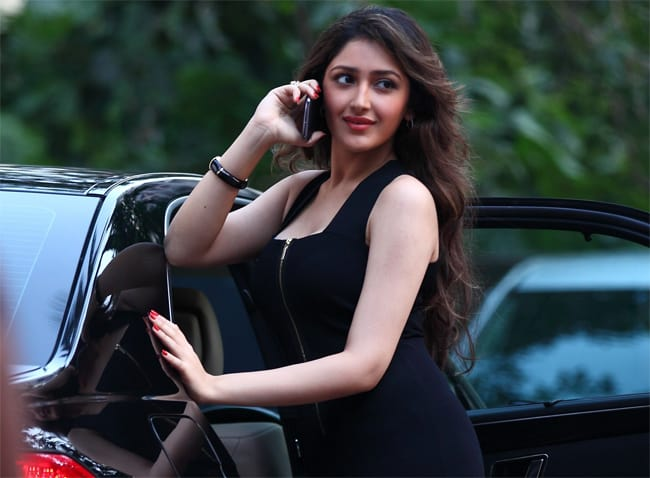 Indian Actress Sayesha Saigal Wallpaper