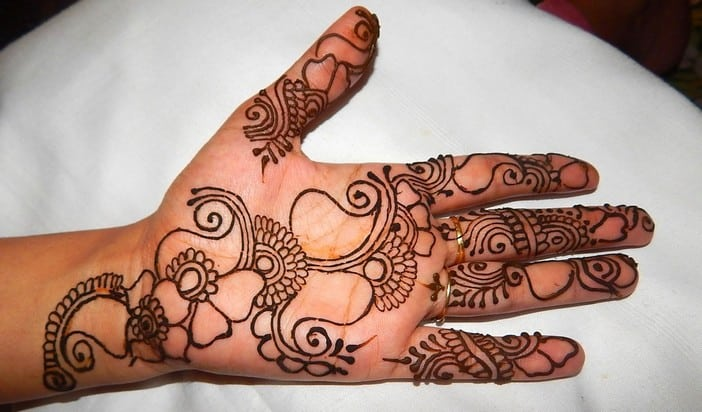 Indian Girls Mehndi Designs for Party