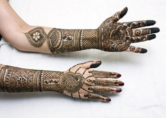 Indian Mehndi Design for Holy 2016