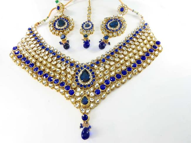 Kundan Imitation Jewelry Design for Women