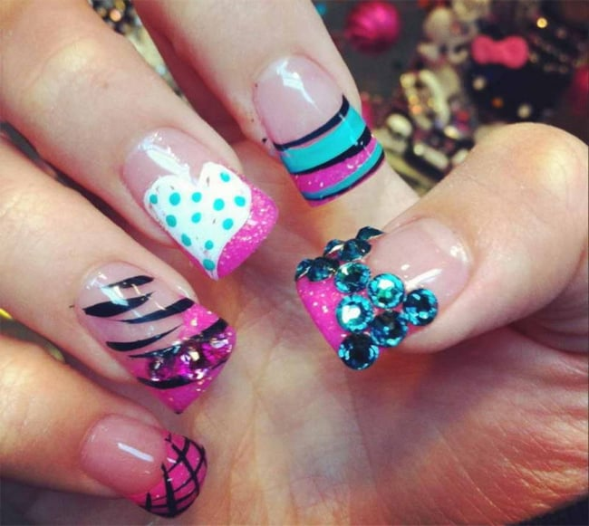 Pictures of nail designs 2017 nail new designs with bling view images original newest nail designs slybury prinsesfo Choice Image