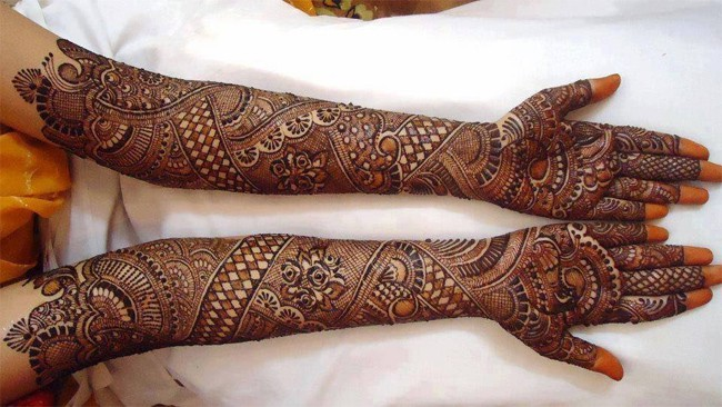 Latest Dulhan Mehndi Design Ideas