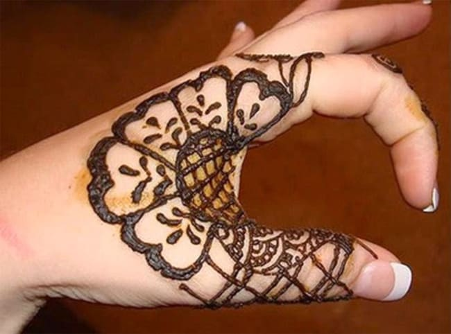 Latest Fingers Mehndi Designs for Eid 2016 - finger mehndi designs
