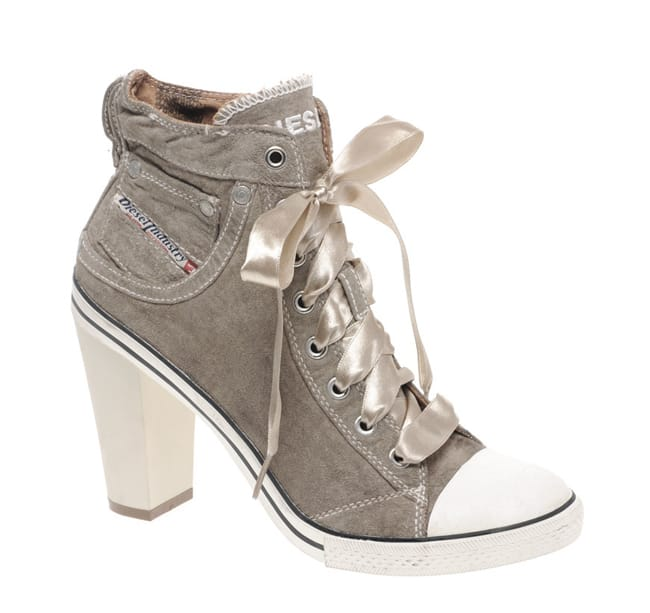 Latest High Heeled Sneakers for Girls