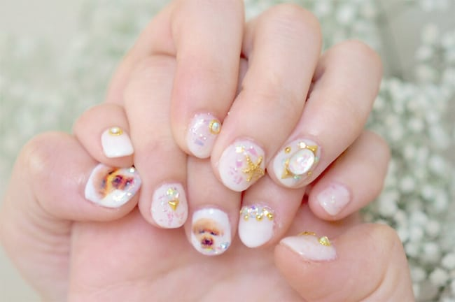 Latest Japanese Nails Designs for Party
