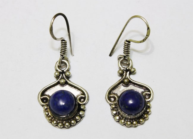 Latest White Metal Earring for Women
