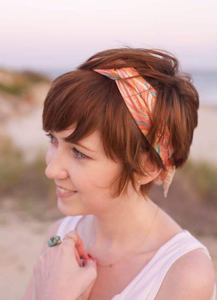 Long Pixie Hairstyles for Thick Hair