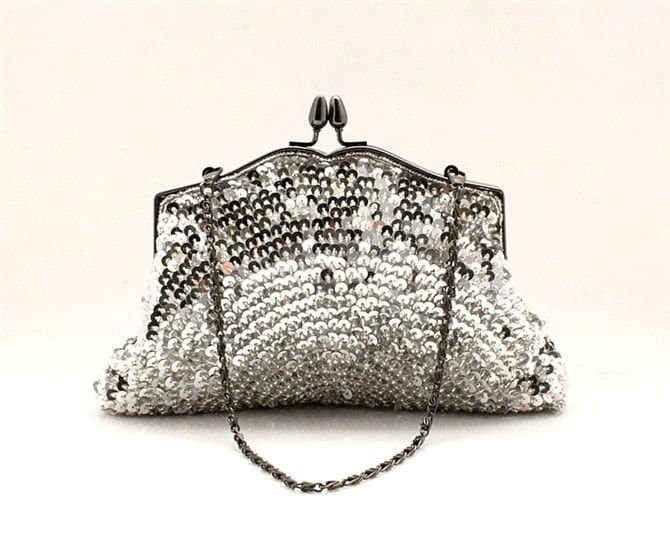 Luxury Beaded Evening Handbags for Girls