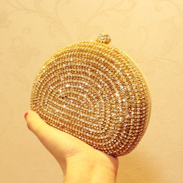 Luxury Gold Bridesmaid Handbag Designs