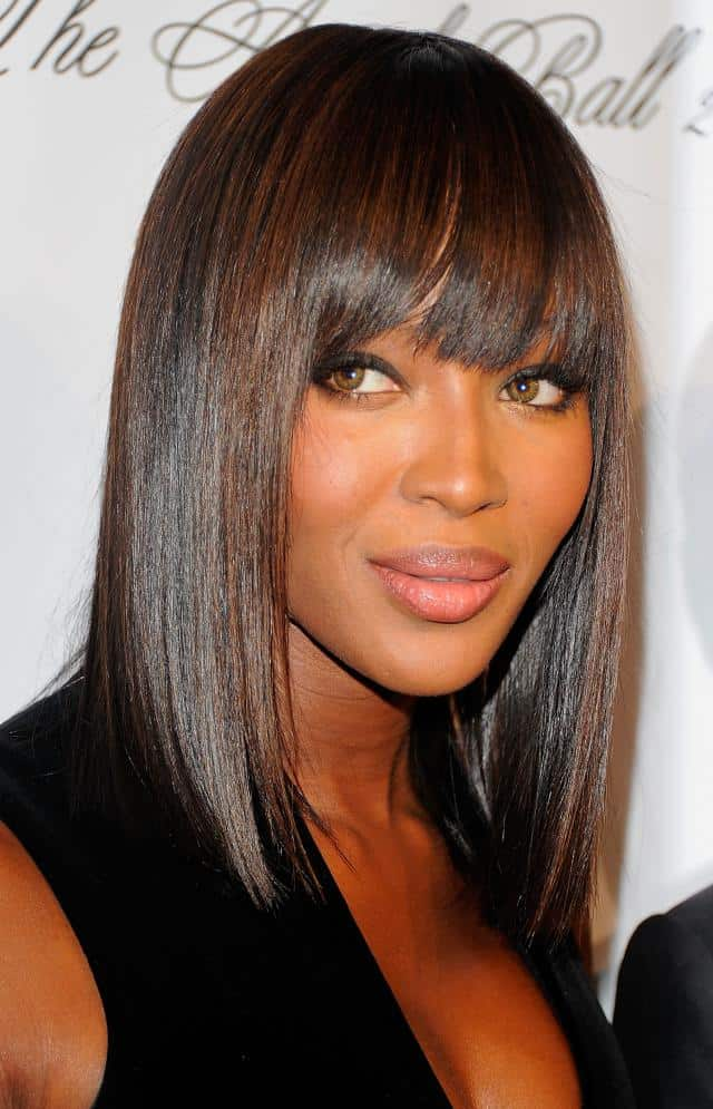 Mid Length Hairstyles for Black Women