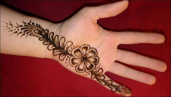 25 Magnificent Henna Cuff Designs For Inspiration: 25 Flabbergasting Finger Mehndi Designs 2018