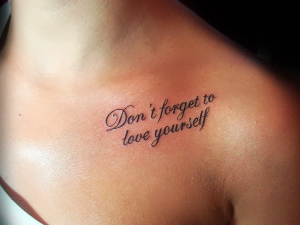 New Meaningful Quotes Tattoos on Shoulder