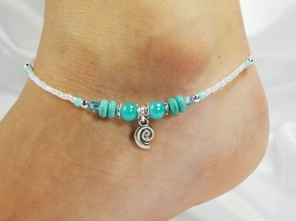 New Turquoise Ankle Bracelet for Women