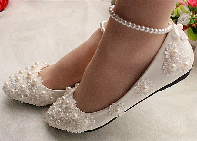 Outstanding Flat Bridesmaid Shoes Pictures