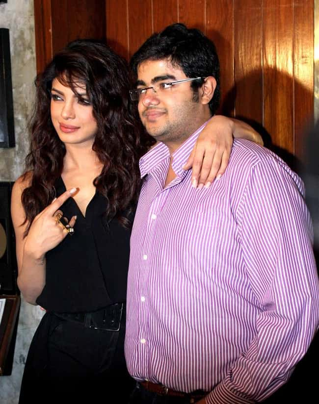 Priyanka Chopra Brother Siddharth Chopra