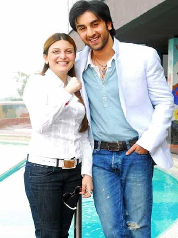 Ranbir Kapoor and Riddhima Kapoor