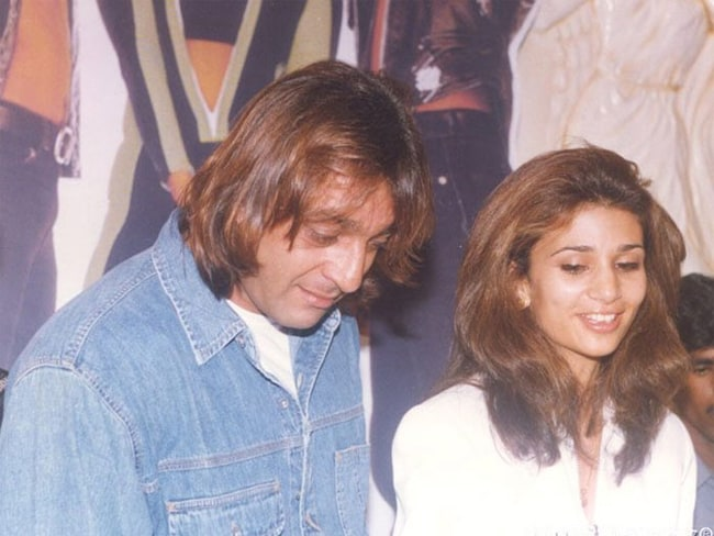Rhea Pillai and Sanjay Dutt