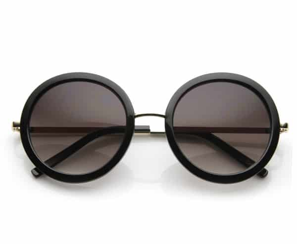 Round Frame Sunnies Glasses for Girls