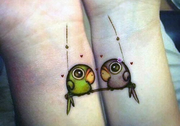 Small Matching Relationship Tattoos 2016