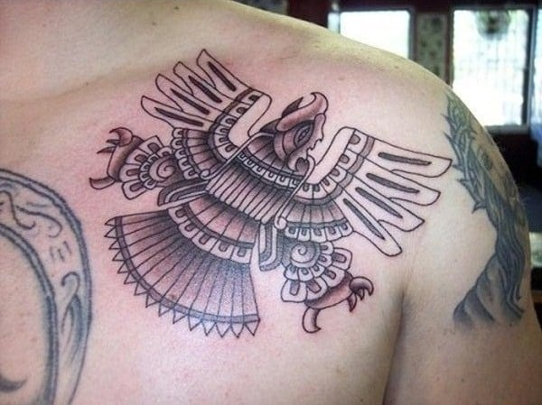 Stylish Aztec Tattoo Designs Pictures