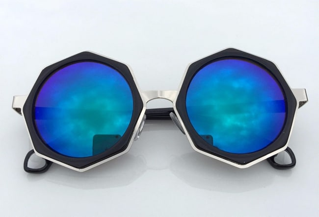 Stylish Polygonal Vintage Sunglasses Designs