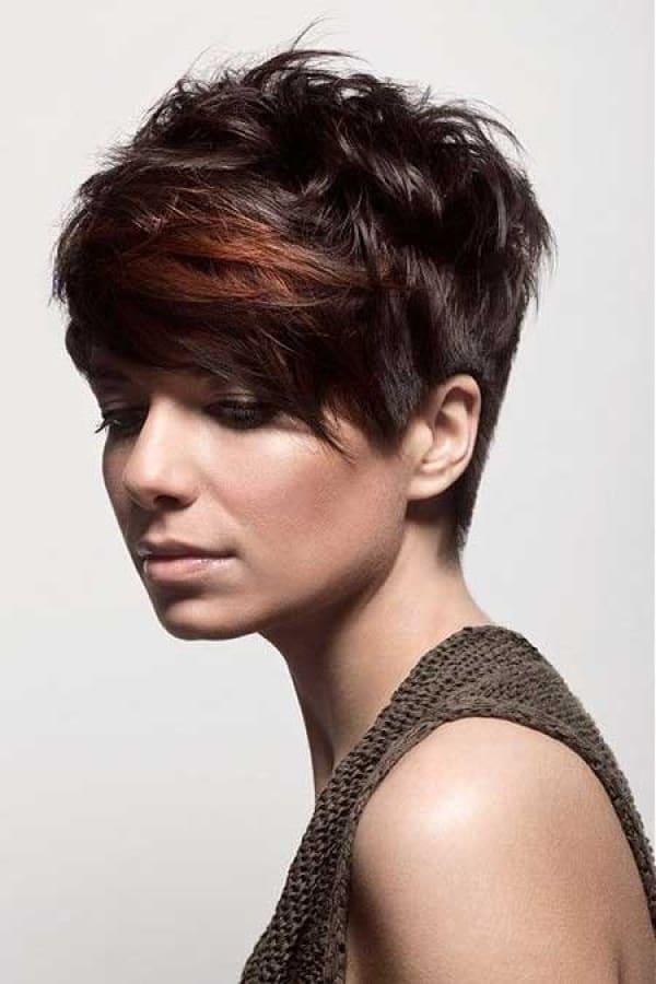 30 Stylish Pixie Hairstyles Ideas for Ladies  SheIdeas - Asymmetrical Hairstyles