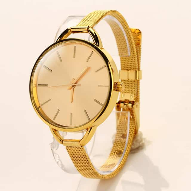 Stylish Women Gold Watches Ideas