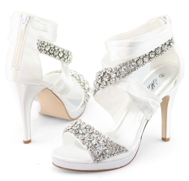 Bridal Shoes For Lace Dress