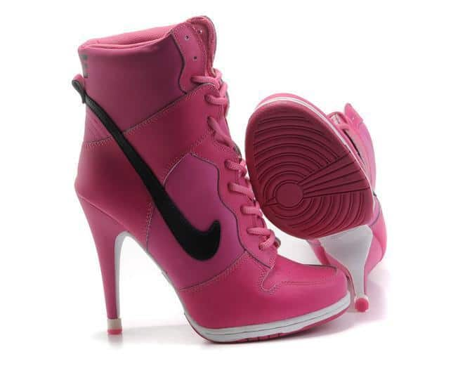 Unique Nike High Heel Sneaker Trends