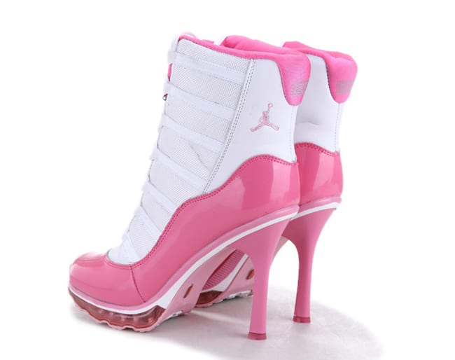 Women Air Jordan High Heel Sneakers Trend