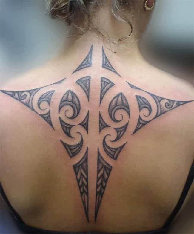 Women Back Maori Tattoos Ideas