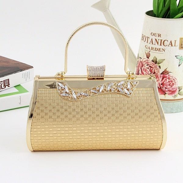 Women Gold Evening Bags for Evening Party