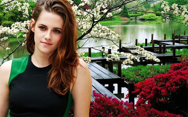 Young Celebrity Kristen Stewart Wallpaper