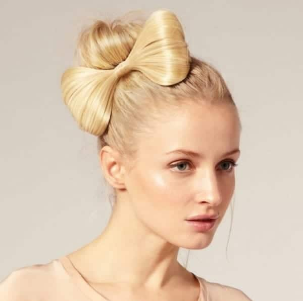 Amazing Bun Haircuts Trend for Brides