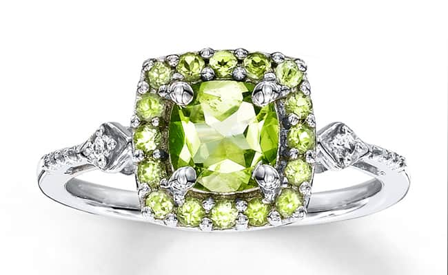 Amazing Engagement Peridot Rings for 2016