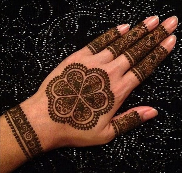 Amazing Henna Designs for Bridesmaids 2016