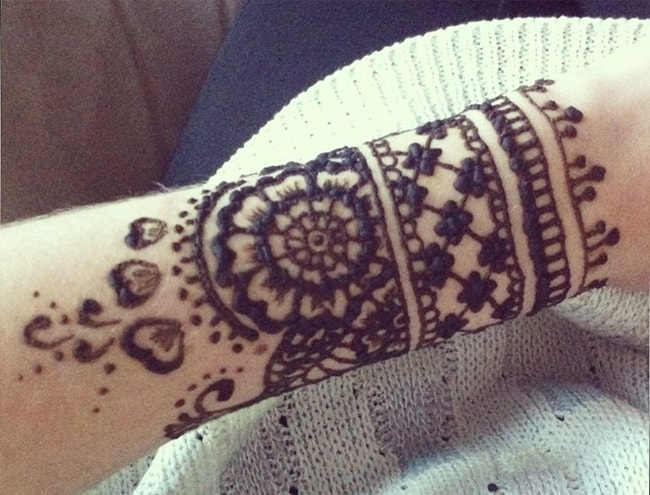 Arabic Armband Mehndi Design Ideas 2016