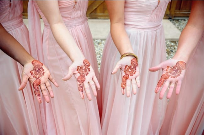 Awesome Bridesmaids Mehndi Designs 2016-17