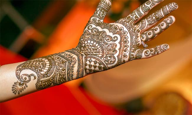 Beautiful Engagement Mehndi Designs Pictures